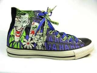 CONVERSE ALL STAR DC COMICS JOKER Batman US 7.5/Fr 41