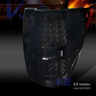 09 12 FORD F150 PICKUP FX4 STX SMOKE LED TAIL LIGHTS BRAKE LAMP