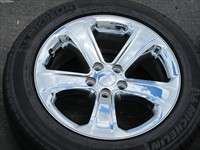 four 2011 Dodge Challenger Factory 18 Chrome Wheels Tires Charger