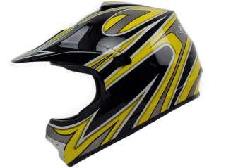 Youth S M L XL ~ Blue Silver Motocross Dirt Bike Buggy ATV Off Road B