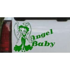 Betty Boop Angel Baby Cartoons Car Window Wall Laptop Decal Sticker