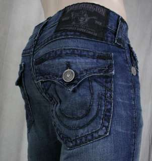 True Religion Jeans Billy Super T REVOLVER black multi stitch