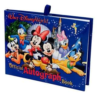 disney world resort autograph book there s room for all your favorite