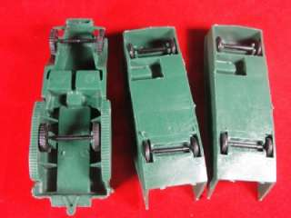 Vintage Marx Toy 1963 Army Boot Camp Set 59 Soldiers Truck Tanks Boat