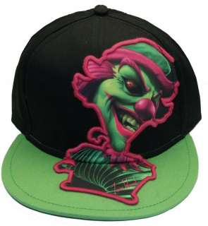 ICP Insane Clown Posse Concert Riddle Box Baseball Hat