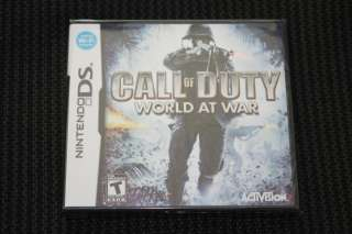 Call of Duty World at War (Nintendo DS, 2008)