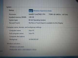 Dell Latitude D620 Laptop   2GB RAM, 160GB HD, DVD/CD RW Drive