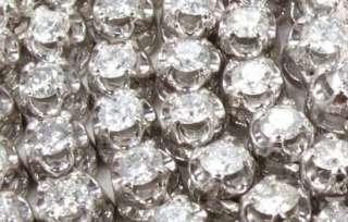 10+ Carat Diamond Necklace   White Gold