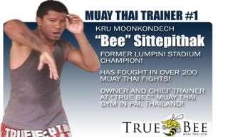 Kru Bee   Muay Thai Champion