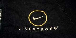 NIKE LAF LIVESTRONG HOODIE FULL ZIP Navy Dark Blue MENS S NEW with Tag