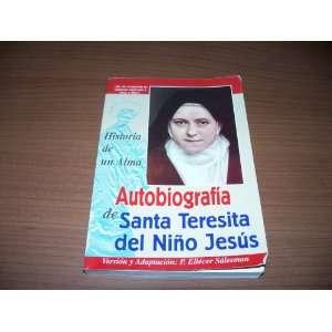 Historia de un Alma: P. Eliecer Salesman (Version y Adaptacion): Books