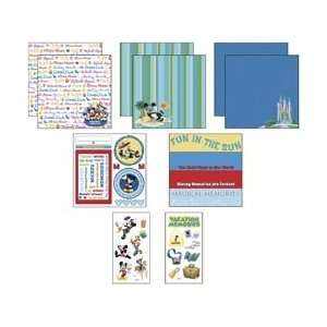 New   Disney Mickey Page Kit 8X8 by EK Success Arts, Crafts & Sewing
