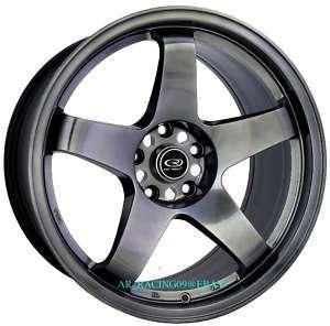 18 Rota Rims Wheels 18x9.5 P45R 350Z G35 EVO 8 9 X STI