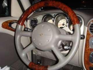 Universal Wood Grain Trim Steering Wheel Covers Model#4