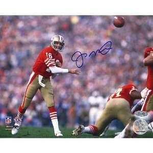 Joe Montana San Francisco 49ers   SB XIX Passing   Autographed 16x20