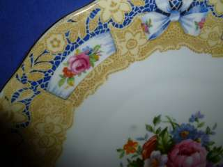 Royal Albert Bone China Valentine Handled Cake Plate ^