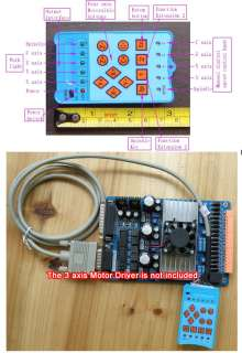3Axis Remote Controller For 3 Axis Stepper Motor Driver