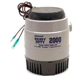ATTWOOD HEAVY DUTY 2000 BOAT BILGE PUMP 4070