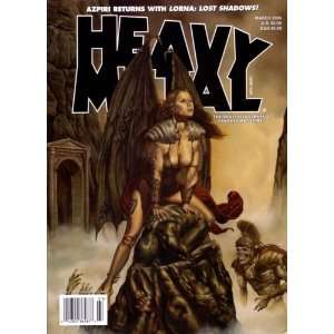 HEAVY METAL THE ADULT ILLUSTRATED FANTASY MAGAZINE MARCH