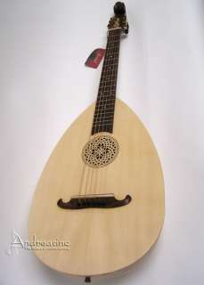 NEW CLASSICAL ACOUSTIC 6 STRING SOLID SPRUCE HAND CARVED LUTE GUITAR