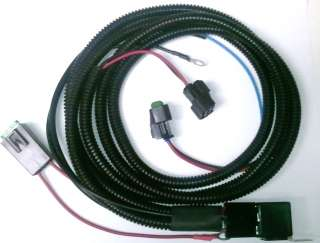 Camaro Fog Light Wiring Harness 2010 to 2012   Chevy