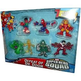 Marvel Superhero Squad Mini Figure 7Pack Defeat of Dr. Doom Volcana