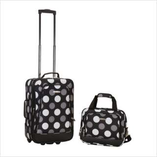 Rockland 2 Piece Luggage Set Blackdot F102 BLACKDOT 675478102008