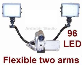 Twin Led Light Kit for Sony DCR DVD505,DVD105,DVD308
