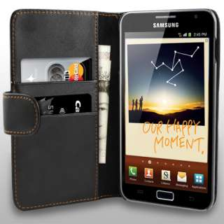 London Magic Store   AIO Black Wallet Leather Case For Samsung Galaxy
