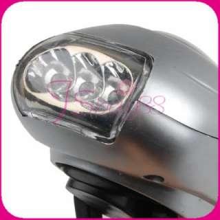 Modes Led Dynamo Wind Up Flashlight Light Lamp Torch