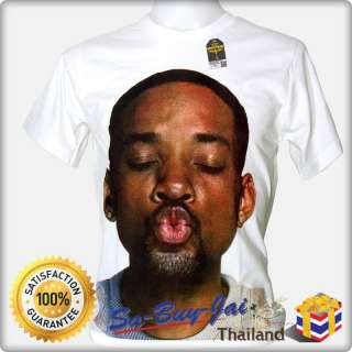 SHIRT FUNNY WILL SMITH KISS ACTOR HIP HOP RAPPER POP