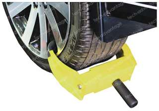 NEW ANTI THEFT SECURITY BOAT CAR TRAILER WHEEL LOCK