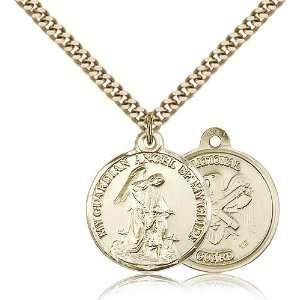 Genuine IceCarats Designer Jewelry Gift Gold Filled Guardain Angel