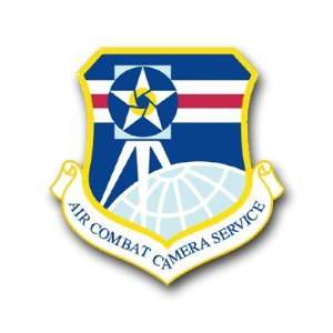 US Air Force Combat Camera Service Decal Sticker 3.8 6
