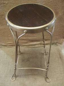 Chair Stool  Antique Old Stools Parlor Plant Stand Table 6440