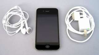 APPLE IPHONE 4 16GB A1332 (AT&T) GPS WiFi Black GSM Smartphone