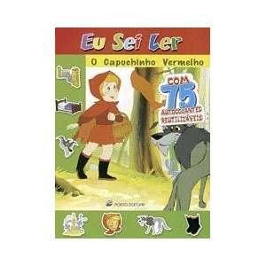 O Capuchinho Vermelho c/ 75 autocolantes (Eu sei ler   a