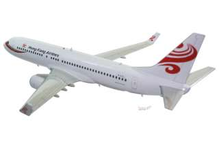 Boeing 737 800 Hongkong Airlines Wood Airplane Model