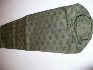 Vintage Kirby D80 Green Cloth Bag W/Zipper Pocket 190067