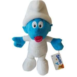 BABY SMURF SOFT TOY TEDDY BEAR PLUSH SMURFS FILM NEW