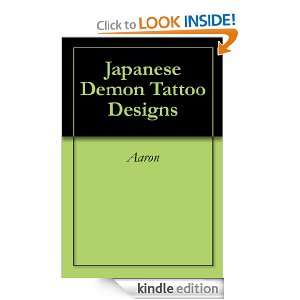 Japanese Demon Tattoo Designs Aaron  Kindle Store