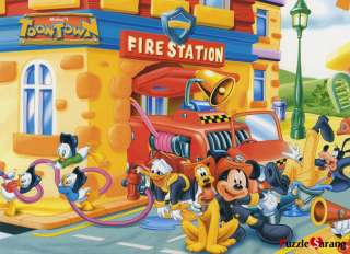 Toy&Puzzle 500 Piece Disney Jigsaw puzzles Mickey Firefighters
