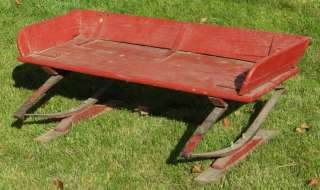 Peachy Antique Covered Buckboard Wagon Seat Wood Bench Inzonedesignstudio Interior Chair Design Inzonedesignstudiocom