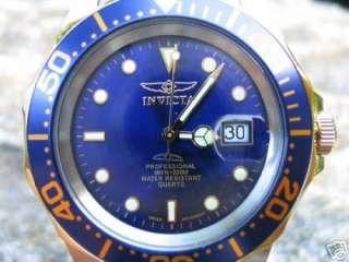 INVICTA SWISS MENS PRO DIVER TWO TONE BLUE WATCH 9310