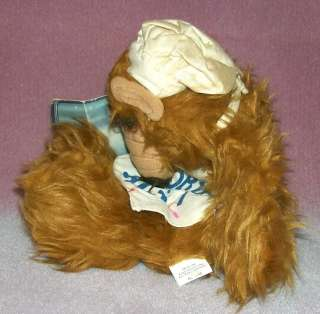 ALF COOKIN A PUPPET Plush Stuffed Animal 11 NWT