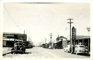 AZ TOMBSTONE TOWN TOO TOUGH TO DIE DRUG STORE CRYSTAL PALACE RPPC 1944