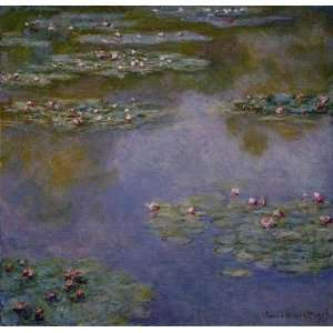 Oil Painting Reproductions, Art Reproductions, Claude Monet, Water