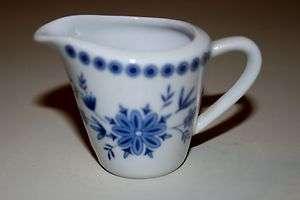 Seltmann Weiden Bavarian Blue Mini Creamer Bavaria West Germany Blue