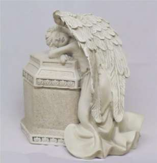 Cremation Memorial Weeping Guardian Angel URN New!