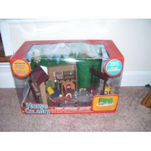 Grand Champions Horse Country Micro Mini Ranch Playset